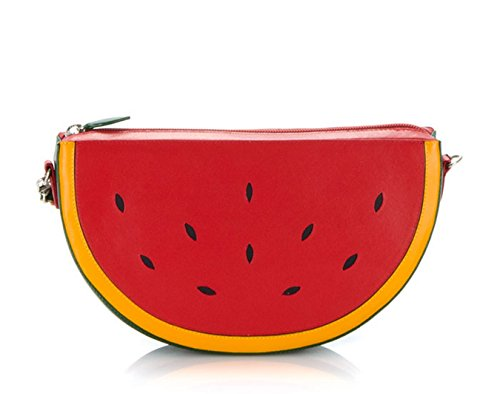 MyWalit Leather Fruits Watermelon Across Body