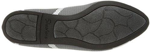 Pictures of Skechers Women's Cleo Wham Flat, Black/White, 8.5 M US 7