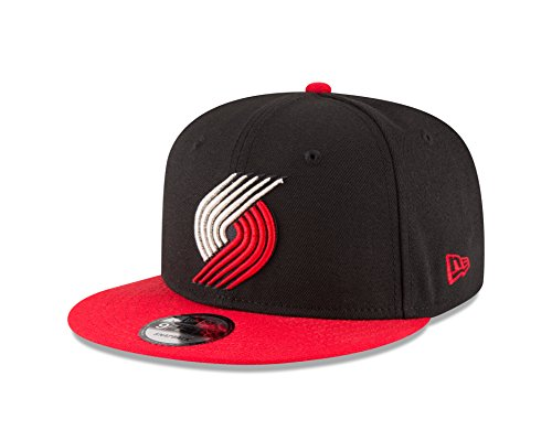 - NBA Portland Trail Blazers Adult Men NBA 9Fifty 2Tone Snapback Cap,OSFA,Black