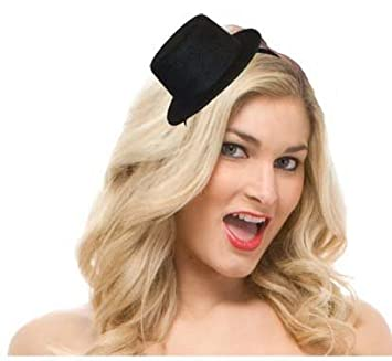 28a1bd720e0 CC Mini Top Hat (Black)  Amazon.co.uk  Toys   Games