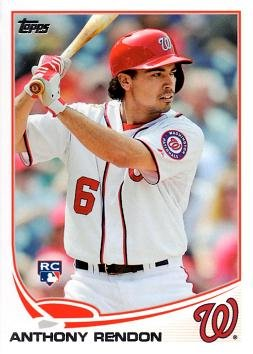 2013 Topps Update Baseball #US8 Anthony Rendon Rookie Card