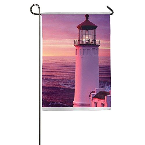 WYIZYIQA Pink Sunset Garden Flag Yard Decorations Flag For O