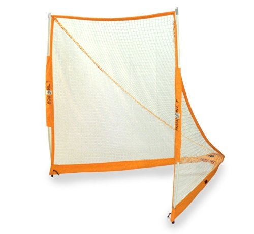 BowNet Portable Practice Lacrosse Goal with Bownet Sand Bags by Bownet (Image #1)