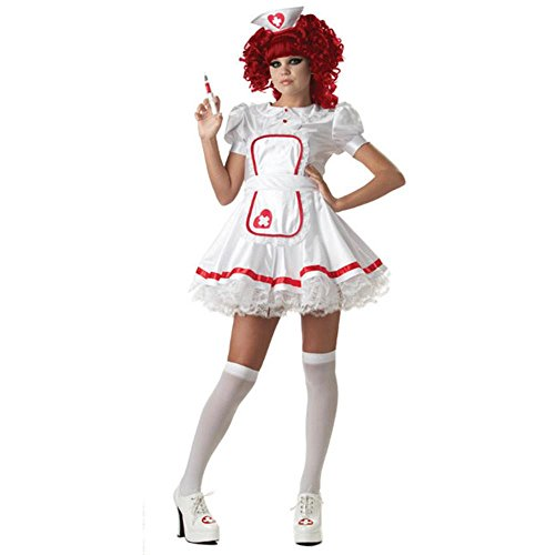 [Teen Sexy Nurse Costume] (Nurse Costumes For Teens)