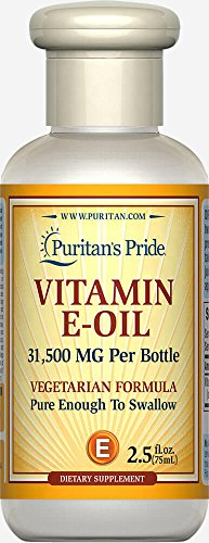 Puritan's Pride Vitamin E-Oil 70,000 IU-2.5 oz Oil