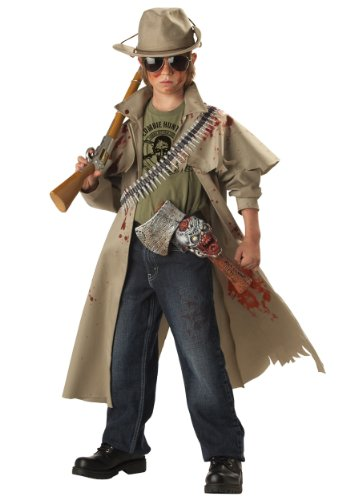 Big Boys' Zombie Hunter Costume Small (6-8)