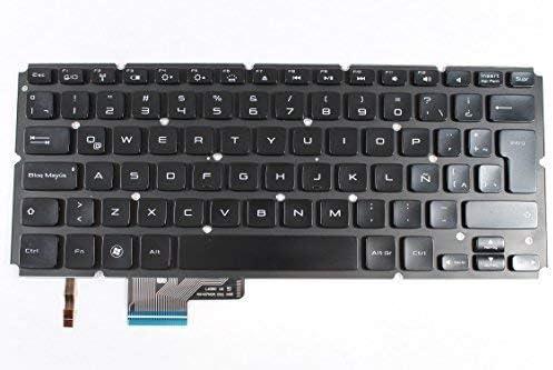 Dell OEM J8CVV Backlit Spanish Black Keyboard XPS L521x