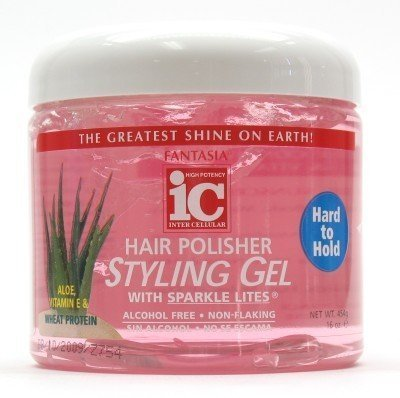 - Fantasia Polisher Gel with Sparkles 16 oz. (Hard to Hold) (Case of 6)