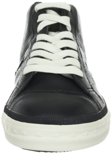 Converse One Star Mid Leather Black/Pinecone 126831C Herren Fashion Sneakers Schwarz (Black/Pinecone)