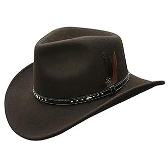 Conner Hats Men's Star Rider Waterproof Wool Hat C1030