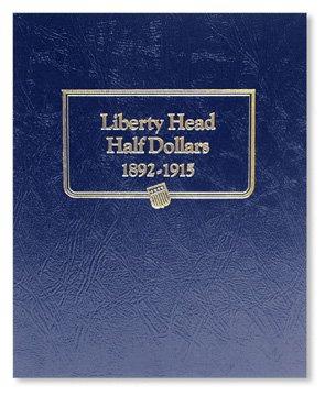 Whitman Harris Barber Half Dollars Album
