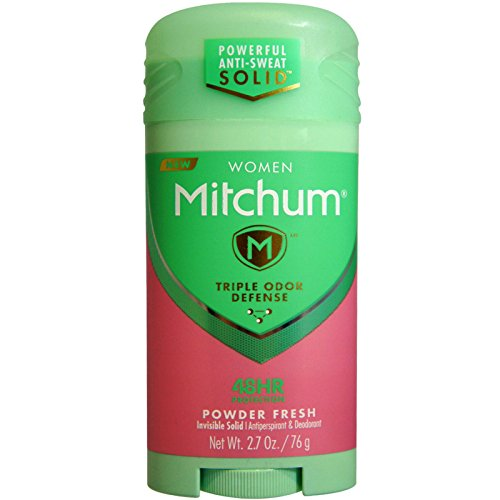Mitchum For Women Triple Odor Defense Invisible Solid Antiperspirant & Deodorant 2.70 oz (Pack of 2) REVLON INC BEAUTY CARE