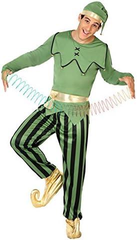 Atosa- Disfraz hombre duende, Color verde, M-L (18050): Amazon.es ...