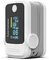 Sonolife Oxímetro y Pulsómetro para Monitoreo de Saturación de Oxígeno y Latidos por Minuto con Pletismografía