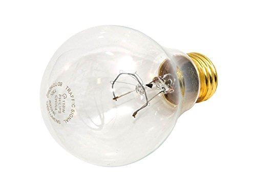 130v A21 Light Bulb - Philips 116W 130V A21 Clear Traffic Signal E26 Base