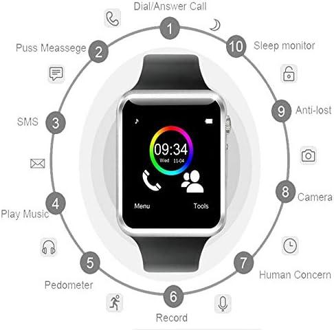 Schrittzähler Smart Watch Mit Neuem Design 2019 A1 Armbanduhr Bluetooth Smart Watch Herren Sport Schrittzähler Für Android Smartphone Sport Uhr Schrittzähler Sport Wasserdicht Bluetooth Smart Watch Ofsskejywqylxrkq5dzo Schwarz Silberfarben Sport