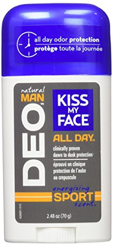 Kiss My Face Natural Man Sports Deodorant, 2.48 Ounce (Pack of 36) by Kiss My Face (Image #1)