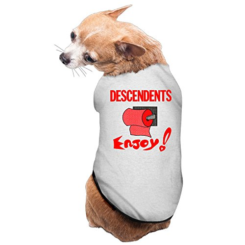 [Descendents Enjoy Band Pet Dog Dress Sleeveless Outfit] (Circle Jerk Costume)