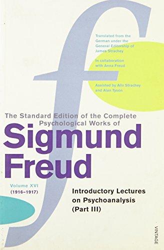 The Complete Psychological Works of Sigmund Freud - Volume 16: