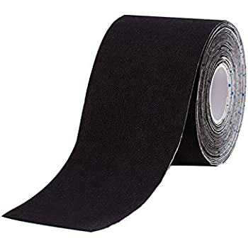 Millennium Elastic Kinesiology Therapeutic Sports Tape (Black)