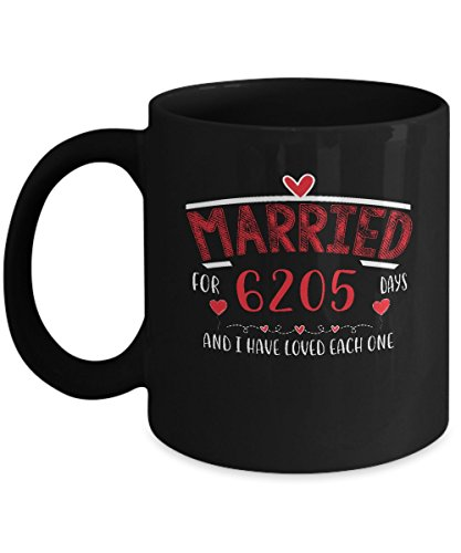 Amazing 17 Years Wedding Anniversary Gifts For Couple. Awesome Mug For Party