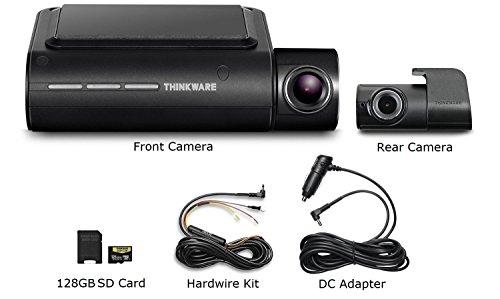 Thinkware F800 Pro Dash Cam + Rear Cam + Hardwire, 128GB