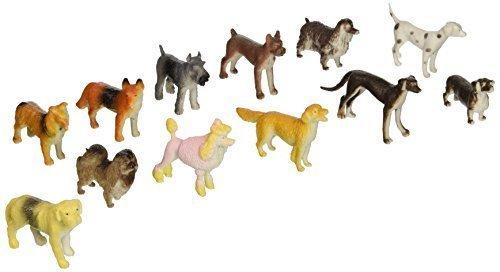 Mini Dogs - Bulk (2-Pack of 12) Kids Figurine