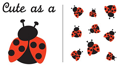 (Plaid:Craft Uptown Baby Color Transfer Iron-Ons 2/Pkg-Cute As A Ladybug)