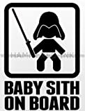 Baby Sith on Board Die Cut Vinyl Car Decal Wall Sticker
