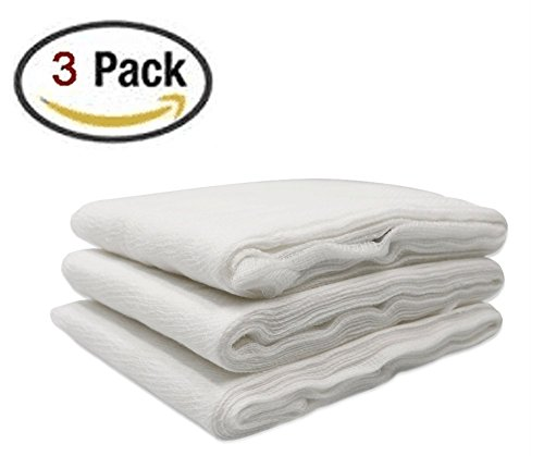 Homder 20 Square Feet Natural Cotton Unbleached Cheesecloth, 3 Pack