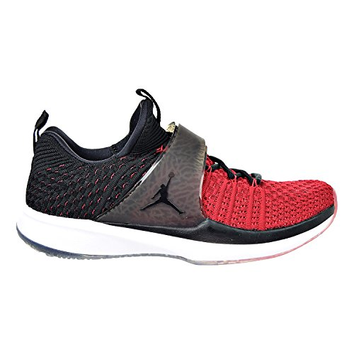 Nike Jordan Formateur 2 Flyknit Chaussures Dentraînement Pour Hommes Gym Rouge / Noir-noir 921210-601 (11 D (m) Us)