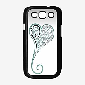 Abstract Heart Designs TPU RUBBER SILICONE Phone Case Back Cover Samsung Galaxy S3 I9300