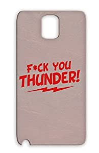 Drop Resistant Ted The Movie Teddy Fck You Thunder Miscellaneous Fuck Geek Protective Case For Sumsang Galaxy Note 3 Red Fck You Thunder