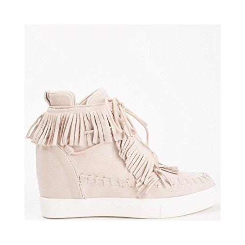 Ideal Damen Ideal Shoes Sneaker Shoes Beige BOa8pwxq