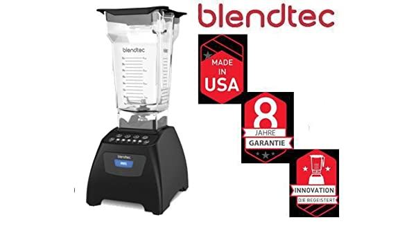 Blendtec Classic 575 Black Incl Four Side Jar 3 PS Smoothie ...