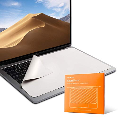 - UPPERCASE GhostBlanket Screen Keyboard Imprint Protection Microfiber Liner and Cleaning Cloth, Compatible with MacBook Pro 15