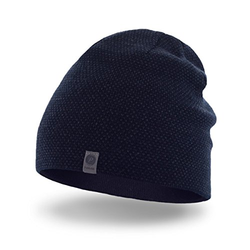 PaMaMi Mens Thermal Winter Hat Warm Beanie Universal Size Skin-Friendly  Material 842be80dc56