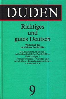 duden richtiges und gutes deutsch wrterbuch der sprachlichen zweifelsflle german edition - Lebenslauf Duden