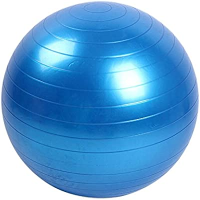 Lunji - Pelota de Ejercicio (45 cm) para Fitness, PVC antiexplosión, Equipo de Ejercicio Profesional, Pelota de Yoga, balón de Equilibrio