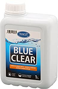 Tamar - Blue Clear, Super Clarificante / Floculante, 1 Litro