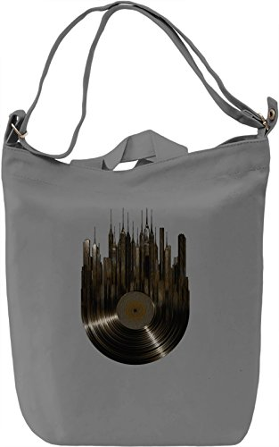 City of Music Borsa Giornaliera Canvas Canvas Day Bag| 100% Premium Cotton Canvas| DTG Printing|