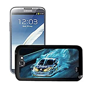 HP DFBlazing Colour Car Pattern 3D Effect Hard Case for Samsung Galaxy Note II N7100