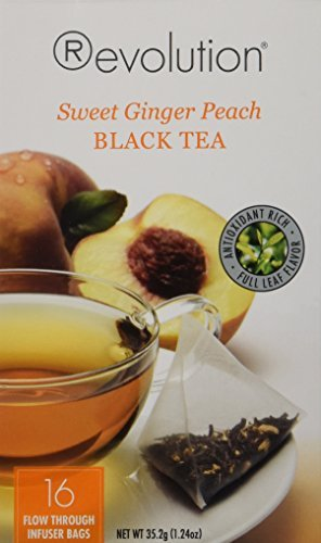 Revolution Tea - Sweet Ginger Peach - 16 (Sweet Peach Tea)