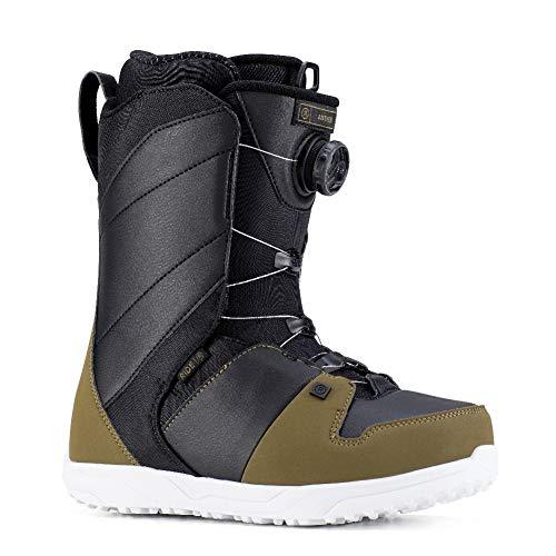 Ride Anthem Boot, Olive Black, 10