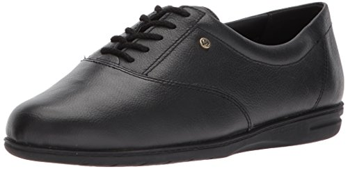 Easy Spirit Women's ESMOTION8 Oxford Flat, Black, 8 M US from Easy Spirit