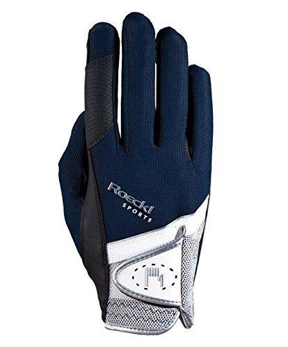 Roeckl Madrid Unisex Gloves 8 Navy