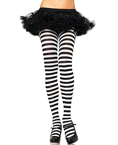 [Mememall Fashion Wide Stripes Assorted Colors Pantyhose Tights Gothic Punk Plus Regular Size] (Plus Size Tiger Costumes)