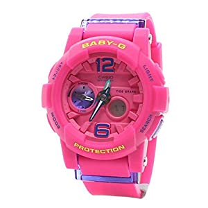 41sG71dNjKL. SS300  - Casio Ladies Baby-G Analog-Digital Casual Quartz Watch NWT BGA-180-4B3