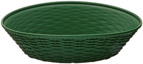 Carlisle 650409 WeaveWear Oval Serving Basket, 9'' x 6'', Green (Pack of 12) by Carlisle