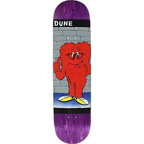 どうやってエスニック孤独Prime Duneモンスタースケートボードデッキ-8.0パープルデッキのみ